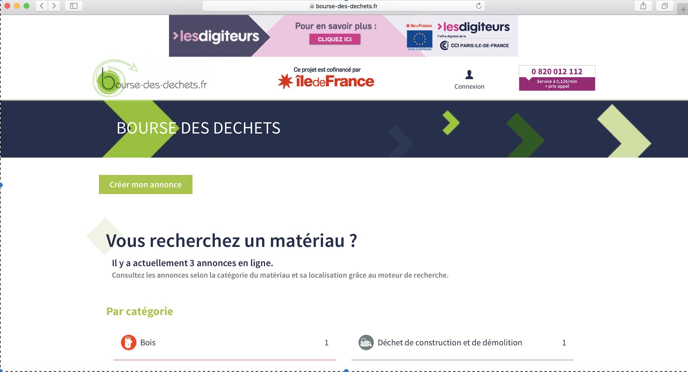 Une bourse des déchets ouverte aux acteurs privés et publics d'Ile-de-France