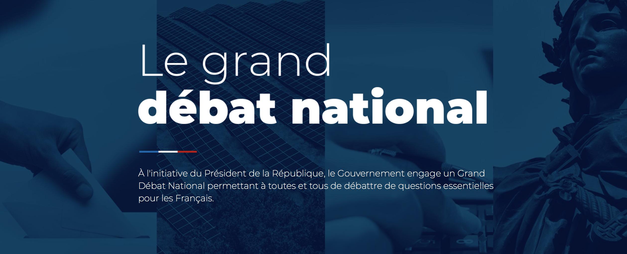 L'économie circulaire s'invite au Grand Débat national