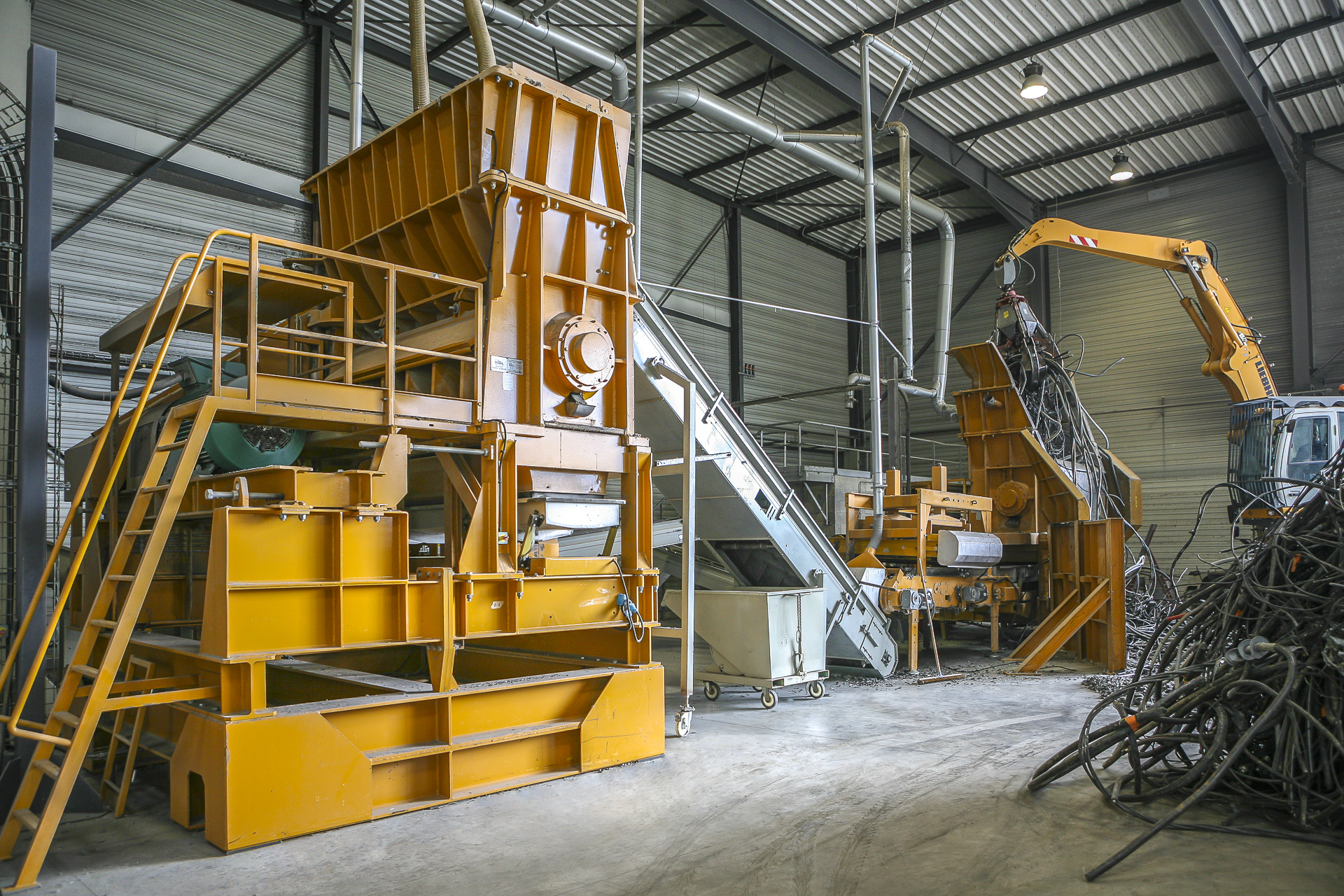 Un avenir radieux pour le matériel de recyclage