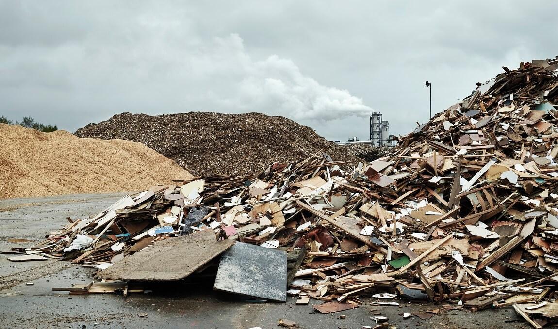 La filière des déchets de bois B s'installe dans la crise