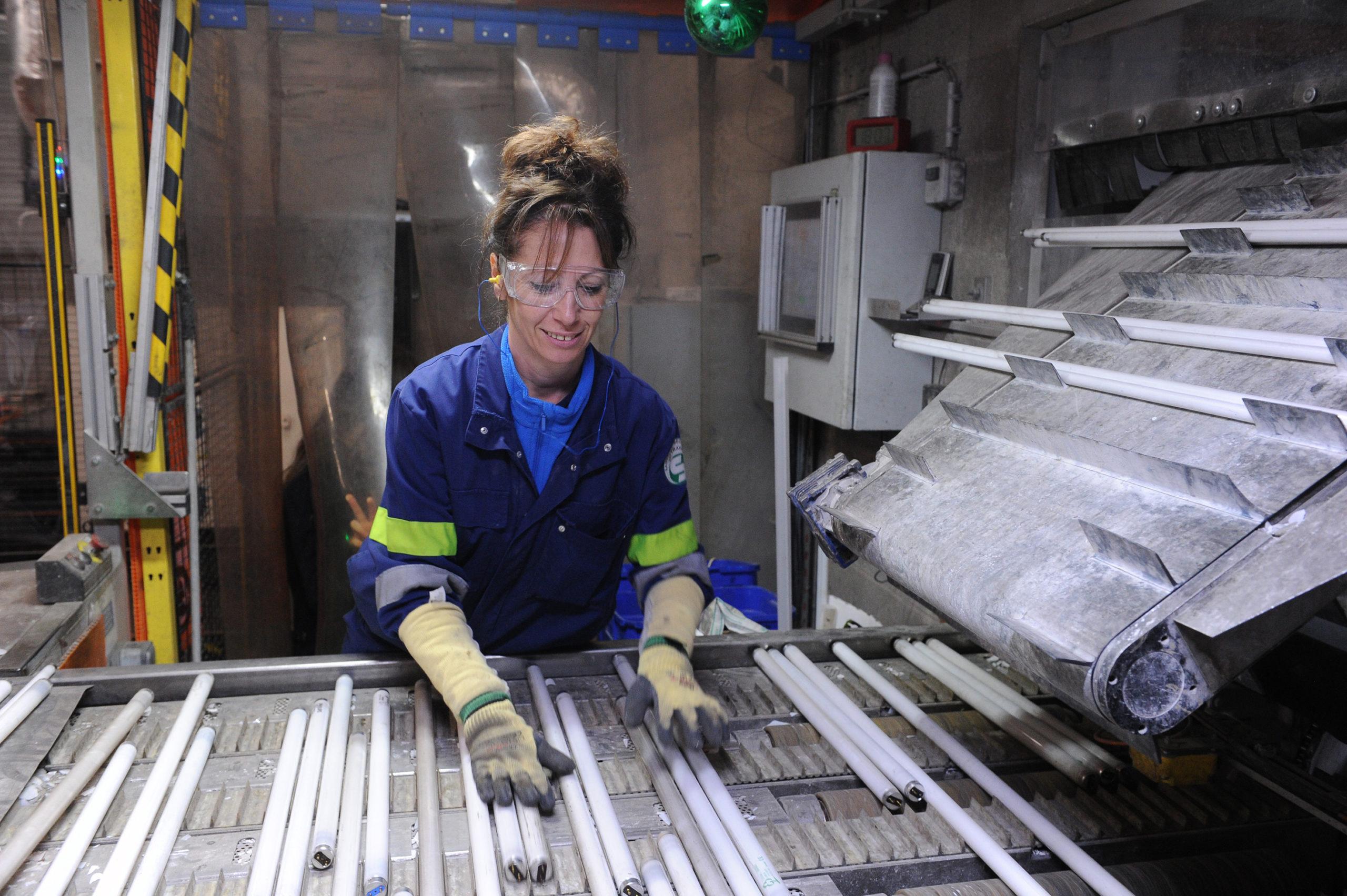 Recyclage des tubes et lampes: plus que deux acteurs en France