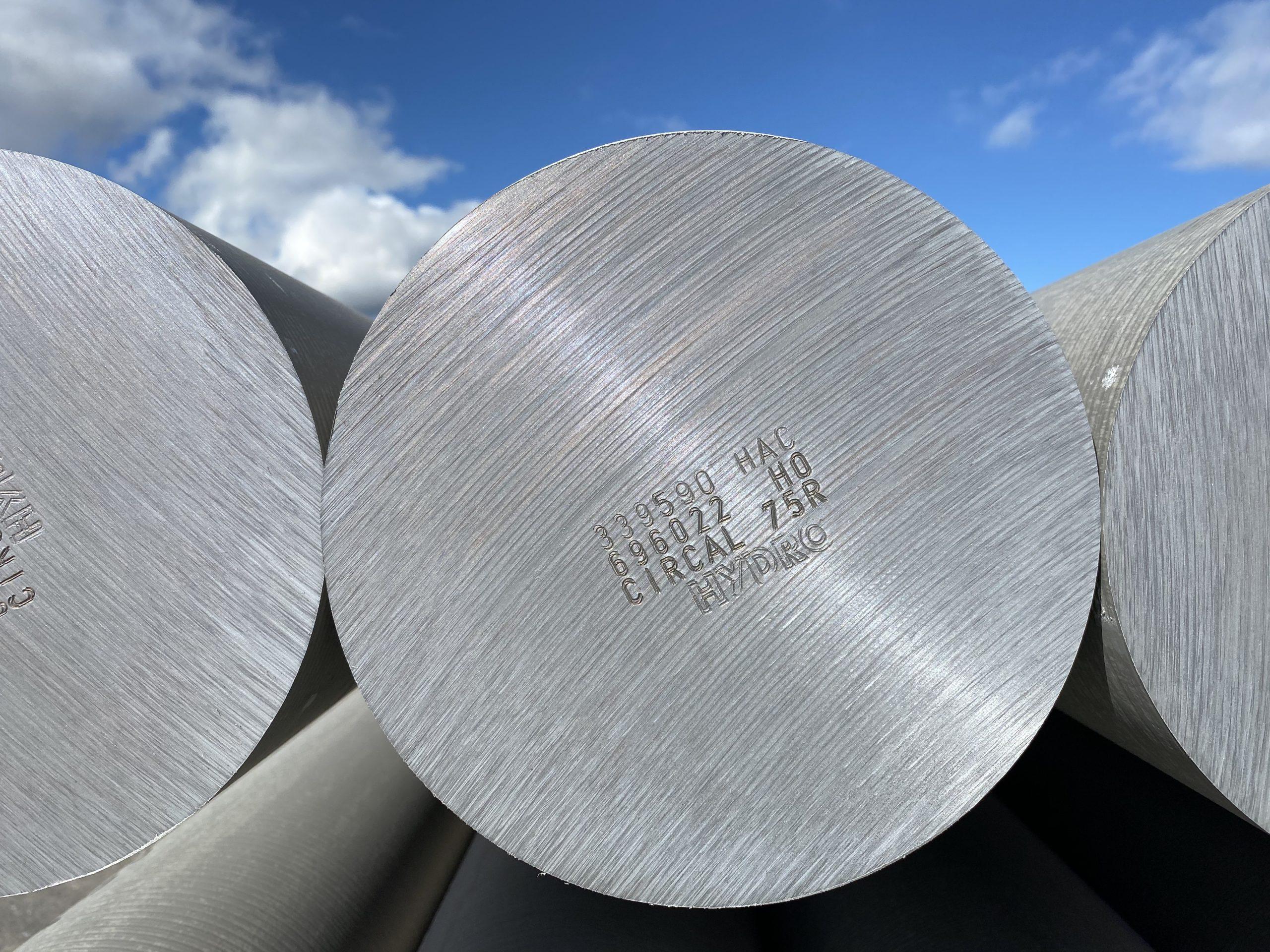 Hydro déploie son alliage d'aluminium recyclé et bas carbone