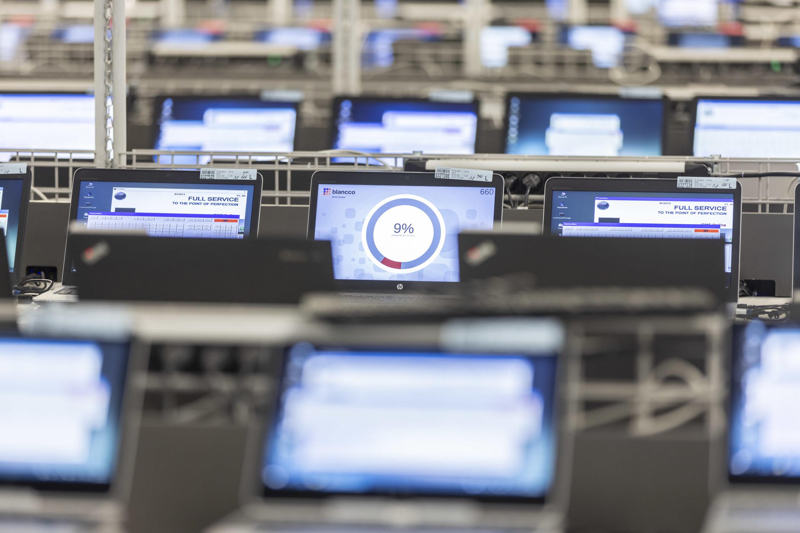 CHG-Meridian donne une seconde vie aux appareils IT professionnels