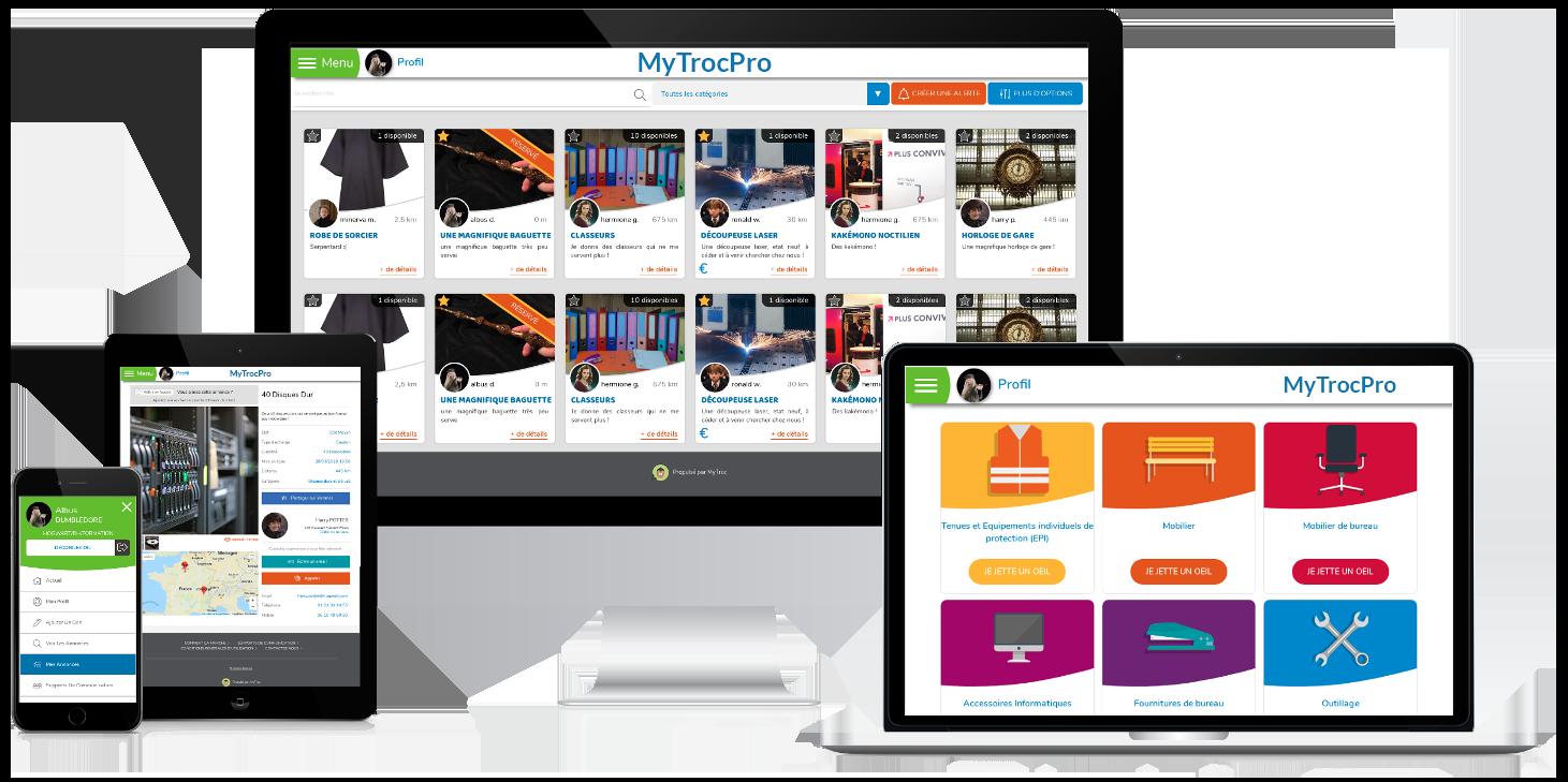 MyTroc Pro stimule le réemploi au travail